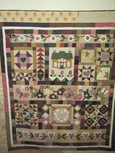 Country Romance quilt