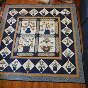 Blue Baltimore quilt