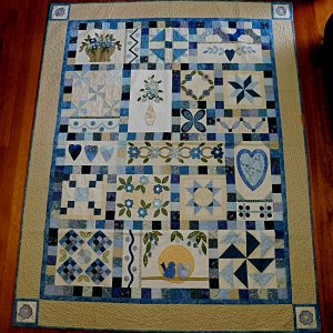 My Blue Heaven quilt