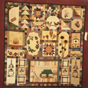 Our Country Home quilt