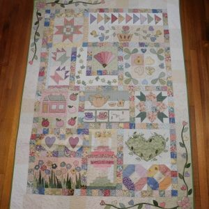 Pretty and pink quilt