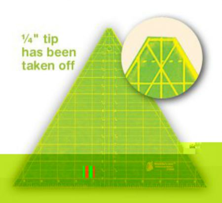 top trimmed triangle