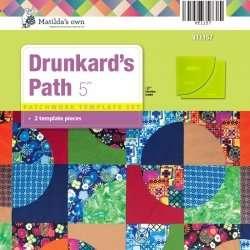 drunkards path template