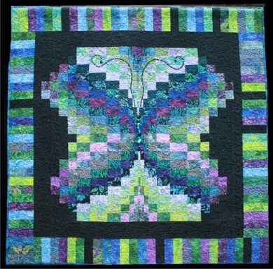 Bali Butterfly quilt