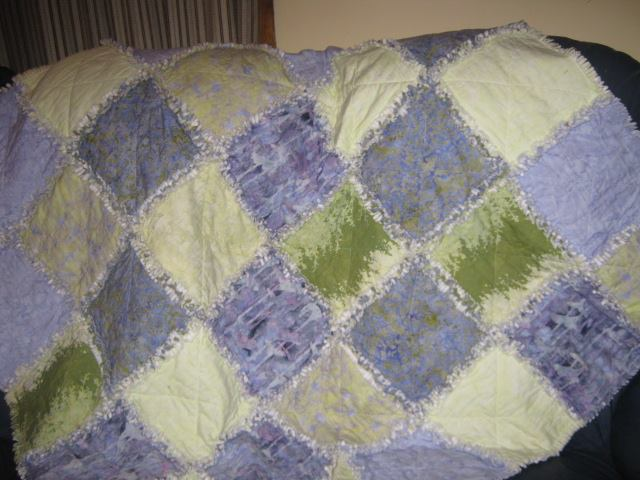shaggy meadow quilt