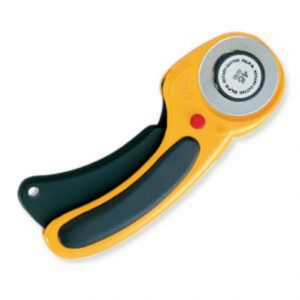 Olfa ergonomic rotary cutter 45mm
