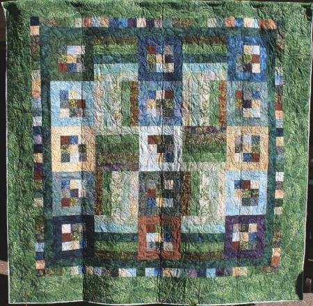 Quick set jelly quilt alternate