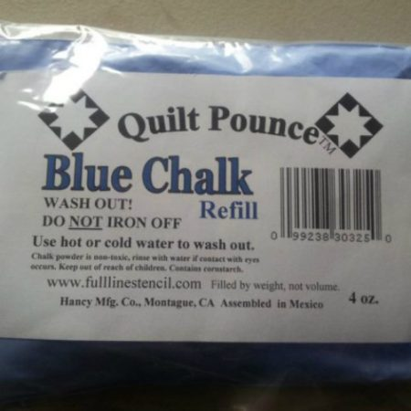 blue chalk refill