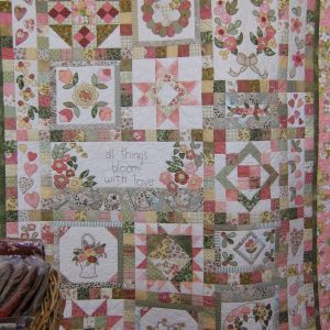 Peaches n Cream quilt