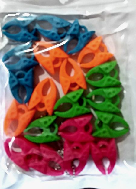 pack of bobbin clamps