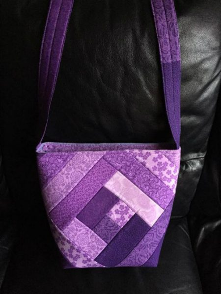 bag made with fusible foam