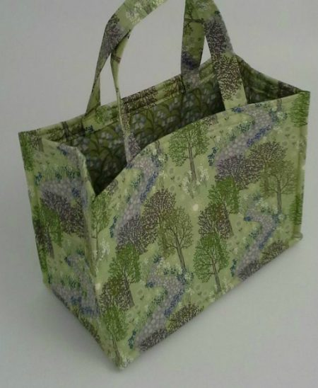 bag with fusible foam