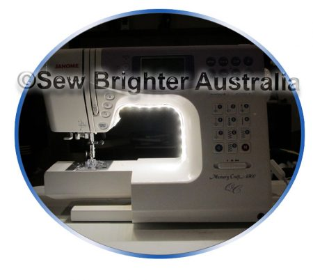 led on sewing machine