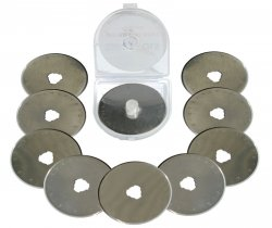 10 rotary cutter blades 45mm